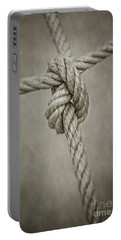 Tied Knot Portable Battery Charger