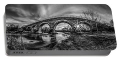 Tiffany Bridge Monochrome Portable Battery Charger