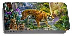 Tiger Coming To Life Portable Battery Charger