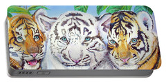 Tiger Cubs Portable Battery Charger