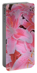 Tiger Lily Relief Portable Battery Charger