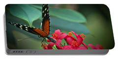 Tiger Longwing Butterfly Portable Battery Charger by Joann Copeland-Paul
