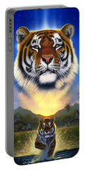 Tiger Of The Lake Portable Battery Charger