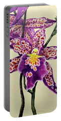 Tiger Orchid Portable Battery Charger