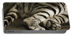 Tiger Paws Portable Battery Charger by Dan Sproul