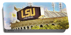Tiger Stadium Portable Battery Charger by Scott Pellegrin