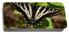 Portable Battery Charger featuring the photograph Tiger Swallowtail Butterfly by Jeff Goulden