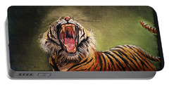 Tiger Yawn Portable Battery Charger