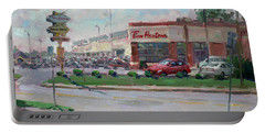 Tim Hortons By Niagara Falls Blvd Where I Have My Coffee Portable Battery Charger