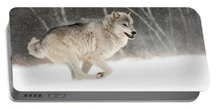 Timber Wolf, Minnesota Portable Battery Charger