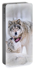 Timber Wolf Pictures 56 Portable Battery Charger