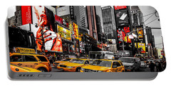 Times Square Taxis Portable Battery Charger
