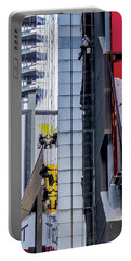 Times Square Window Washers Portable Battery Charger by Jon Woodhams