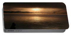 Timothy Lake Mysterious Sunrise 2 Portable Battery Charger