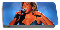 Tina Turner Queen Of Rock Portable Battery Charger