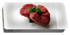 Tina's Strawberry Portable Battery Charger