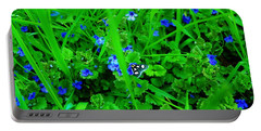 Portable Battery Charger featuring the photograph Tiny Butterfly by Sherman Perry
