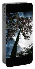 Portable Battery Charger featuring the photograph Tippy Top Tree II Art by Lesa Fine