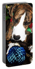Portable Battery Charger featuring the photograph 'tis Better To Receive by Robert McCubbin