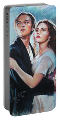 Titanic Jack And Rose Portable Battery Charger