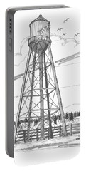 Tivoli Water Tower Portable Battery Charger