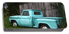 To Be Country - Vintage Vehicle Art Portable Battery Charger by Jordan Blackstone