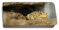 Toad In The Hole Portable Battery Charger by Heather Applegate