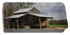 Tobacco Barn In North Carolina Portable Battery Charger