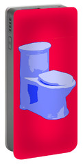 Toilette In Blue Portable Battery Charger