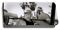 Tom Platz In Los Angeles Portable Battery Charger