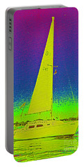 Tom Ray's Sailboat Portable Battery Charger by First Star Art