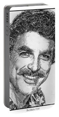 Tom Selleck In 1984 Portable Battery Charger