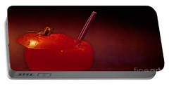 Portable Battery Charger featuring the photograph Tomato Juice by Sharon Elliott