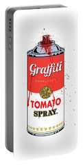 Tomato Spray Can Portable Battery Charger