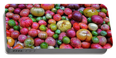 Tomatoes Portable Battery Charger by Bill Owen