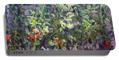 Tomatoes In Viola's Garden  Portable Battery Charger
