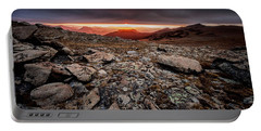 Tombstone Sunrise Portable Battery Charger by Steven Reed