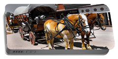 Tombstone Wagon Portable Battery Charger
