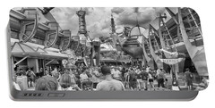 Portable Battery Charger featuring the photograph Tomorrowland by Howard Salmon