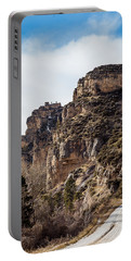 Portable Battery Charger featuring the photograph Tongue River Canyon by Michael Chatt