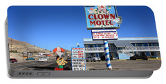Tonopah Nevada - Clown Motel Portable Battery Charger