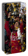 Tony Stewart Champion Portable Battery Charger by Kevin Cable