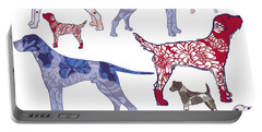 Top Dogs Portable Battery Charger by Sarah Hough
