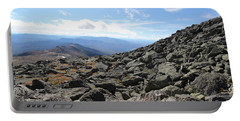 Top View Mt Washington Portable Battery Charger