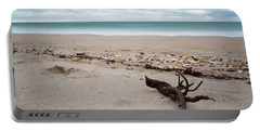 Topsail Island Driftwood Portable Battery Charger by Shane Holsclaw