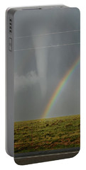 Tornado And The Rainbow Portable Battery Charger