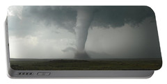 Tornado In The High Plains Portable Battery Charger