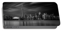 Toronto Skyline - 8 Minutes In Toronto Portable Battery Charger by Ian Good