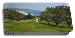 Torrey Pines Golf Course North 6th Hole Portable Battery Charger by Adam Romanowicz