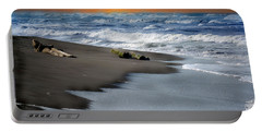 Portable Battery Charger featuring the photograph Tortuguero Sun Rise by Gary Keesler